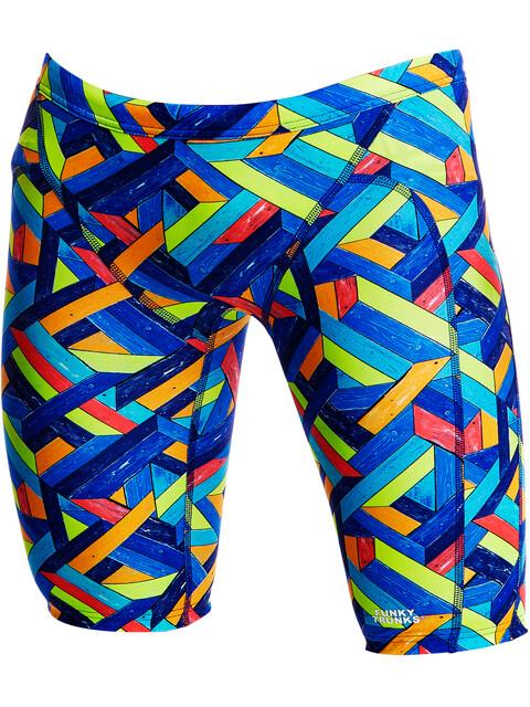 Funky Trunks Training - Bañadores Niños - Multicolor
